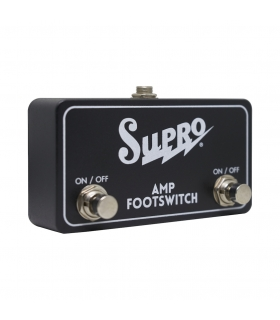 SUPRO SF2 Dual Amp Footswich - On/Off Tremolo/Reverb