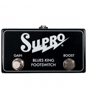 SUPRO SF4 Blues King Footswich - On/Off Boost/Gain