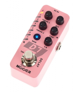 MOOER D7 - Delay e Looper