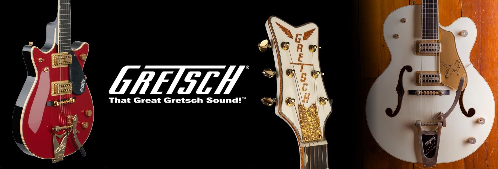 Clicca per vedere tutti i modelli e disponibilità di GRETSCH GUITARS